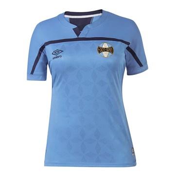 Camisa Umbro Grêmio Oficial III 2020 Feminina - Azul