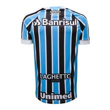 Camisa Umbro Masculina Grêmio Oficial 1 2018 (FAN PAT S/N)