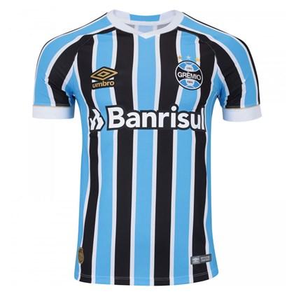 Camisa Umbro Masculina Grêmio Oficial 1 2018 (GAME S N) - EsporteLegal 486aba6c8a780