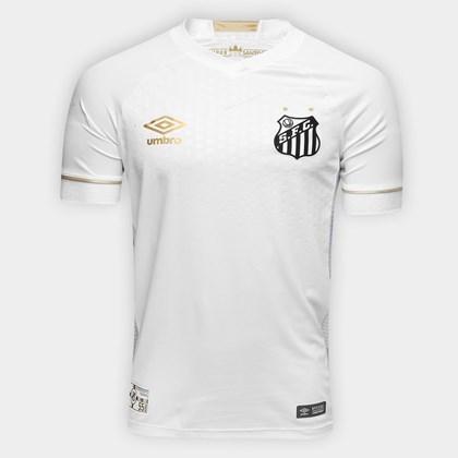 Camisa Umbro Santos Oficial 1 2018 Game S/N Masculina