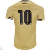 Camisa Umbro Santos Oficial III 2018 (Nº 10) Masculina