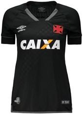 Camisa Umbro Vasco III 2017 Feminina - 3V160278