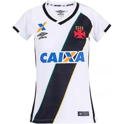 0c4d87eb3c Camisa Vasco Feminina Oficial 2 Umbro 3V00085 - EsporteLegal