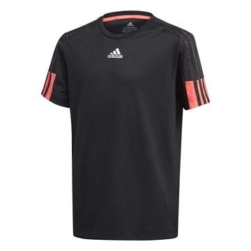 Camiseta Adidas Aeroready 3 Stripes Infantil