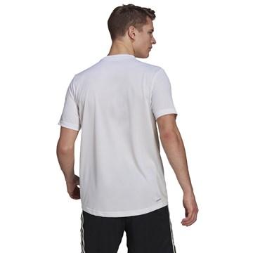 Camiseta Adidas Aeroready Designed To Move Masculina - Branco