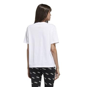 Camiseta Adidas Big Logo Feminina - Branco