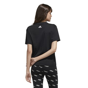 Camiseta Adidas Big Logo Feminina - Preto