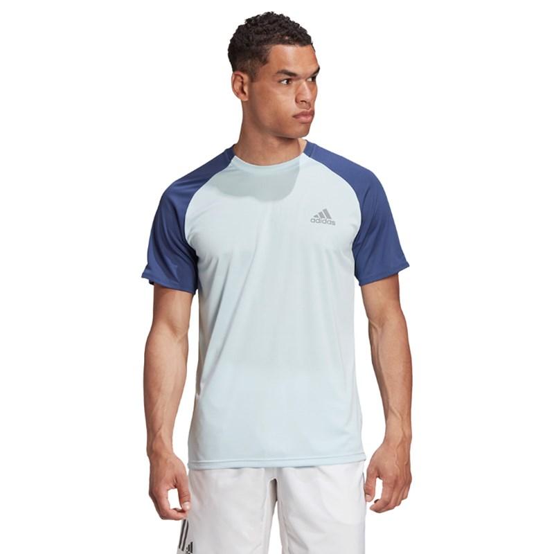 Camiseta Adidas Club Masculina - Azul