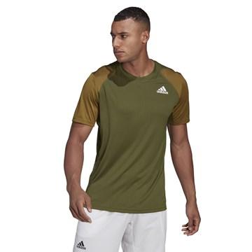 Camiseta Adidas Club Tennis Masculina - Musgo