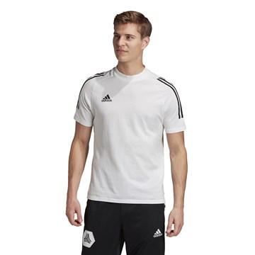 Camiseta Adidas Condivo 20 Masculina - Branco e Preto