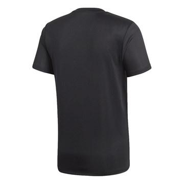 Camiseta Adidas Core 18 Masculina - Preto e Branco