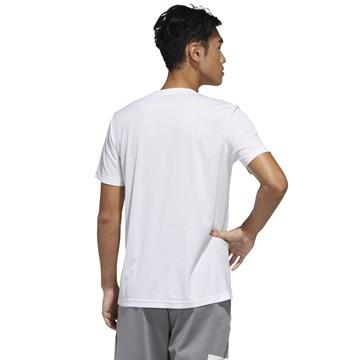 Camiseta Adidas Designed 2 Move Plain Masculina - Branco