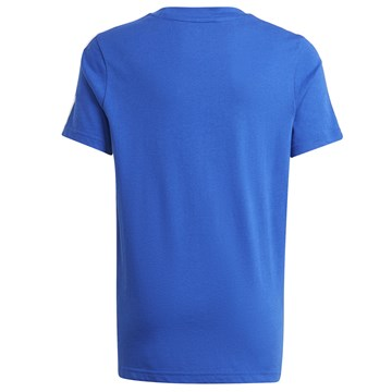 Camiseta Adidas Essentials 3-Stripes Infantil - Azul