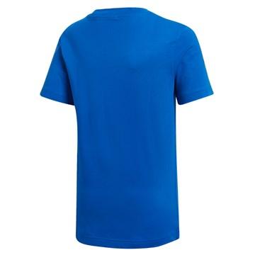 Camiseta Adidas Essentials 3S Infantil - Azul