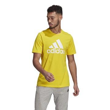 Camiseta Adidas Essentials Big Logo Masculina - Amarelo