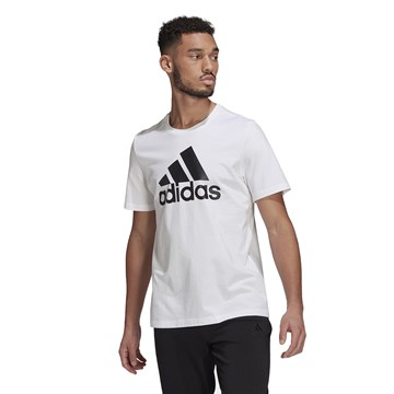 Camiseta Adidas Essentials Big Logo Masculina - Branco