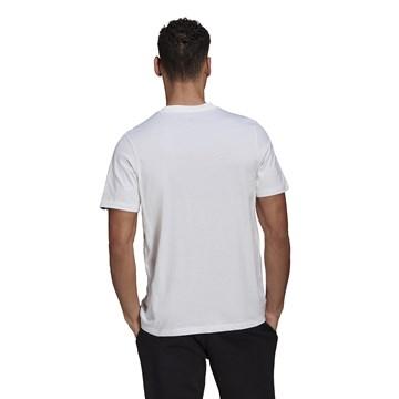 Camiseta Adidas Estampada Lit Logo Masculina - Branco