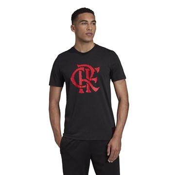 Camiseta Adidas Flamengo Grafica Masculina