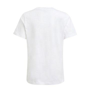 Camiseta Adidas Logo Infantil - Branco