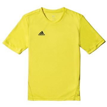 Camiseta Adidas Treino Core 15 Infantil - Amarelo