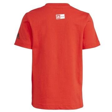 Camiseta Adidas X Disney Infantil - Vermelho