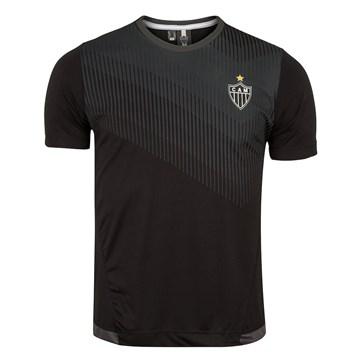 Camiseta Atlético Mineiro Braziline Contact Masculina - Preto