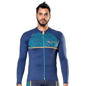 Camiseta Ciclismo Elite 135143 Plus Size Masculina