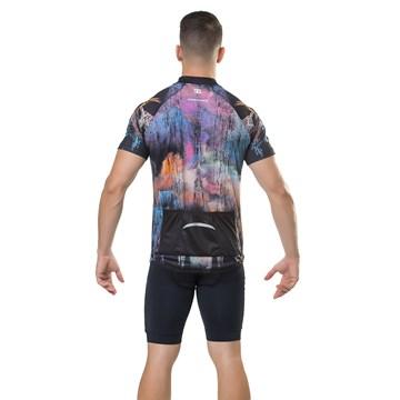 Camiseta Ciclismo Elite 135163 Plus Size Masculina