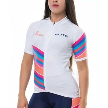 Camiseta Ciclismo Elite 135166 Feminina - Branco