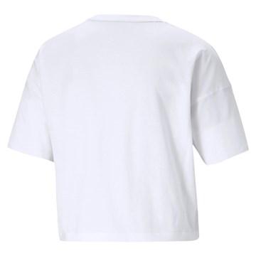 Camiseta Cropped Puma Small Logo Feminina