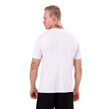 Camiseta Esporte Legal Antiviral Masculina - Branco