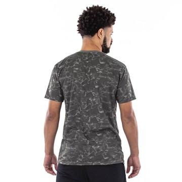 Camiseta Everlast Estampa Masculina - Cinza