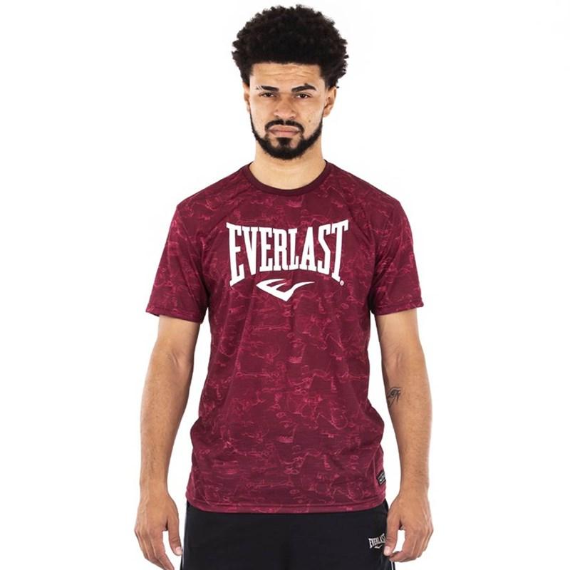 Camiseta Everlast Estampa Masculina - Vermelho