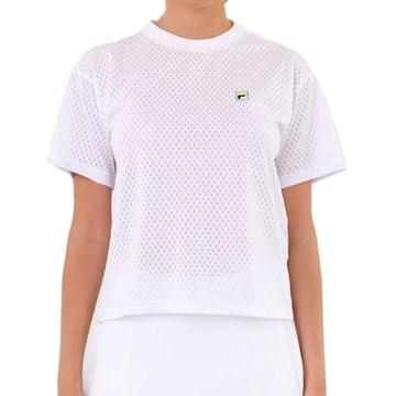 Camiseta Fila Aus 21 Feminina - Branco