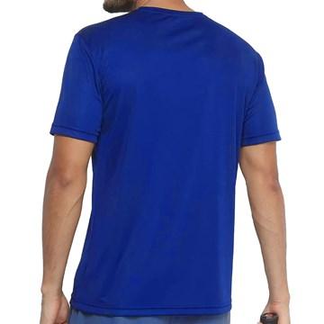 Camiseta Fila Aztec Box Masculina - Azul e Branco