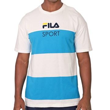Camiseta Fila Listrada Sport Masculina