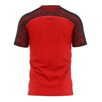 Camiseta Flamengo Braziline Climber Masculina - Vermelho