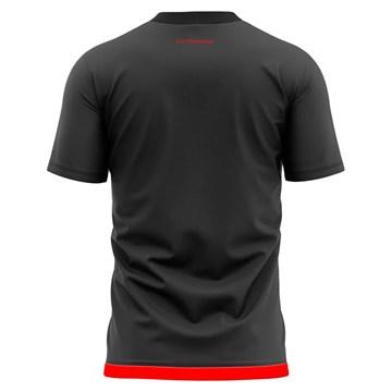 Camiseta Flamengo Braziline Contact Masculina - Chumbo