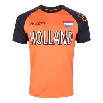 Camiseta Kappa Holanda Logo Masculina