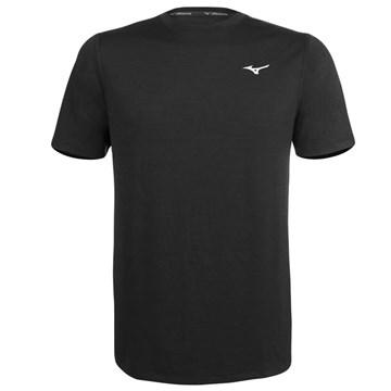 Camiseta Mizuno Impulse Core Tee Masculina - Preto
