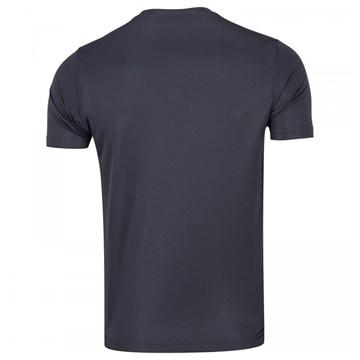 Camiseta Mizuno Spark Masculina - Chumbo e Vermelho