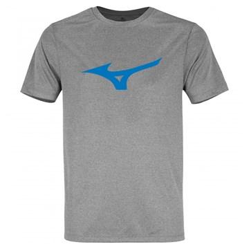 Camiseta Mizuno Spark Masculina - Cinza e Azul