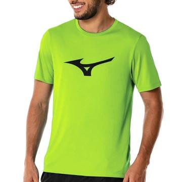 Camiseta Mizuno Spark Masculina - Verde Limão