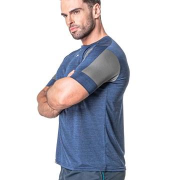Camiseta Poker Esportiva Dusk Masculina - Azul