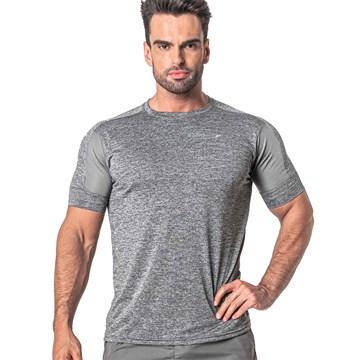 Camiseta Poker Esportiva Dusk Masculina - Cinza