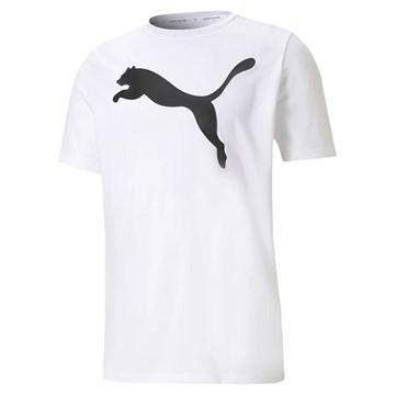 Camiseta Puma Active Big Logo Masculina - Branco