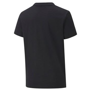Camiseta Puma Alpha Graphic Tee Infantil - Preto