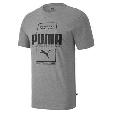 Camiseta Puma Box Tee Masculina - Mescla