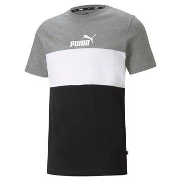 Camiseta Puma Essentials+ Colorblock Masculina