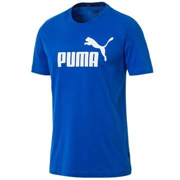 Camiseta Puma Essentials Logo Masculina - Azul
